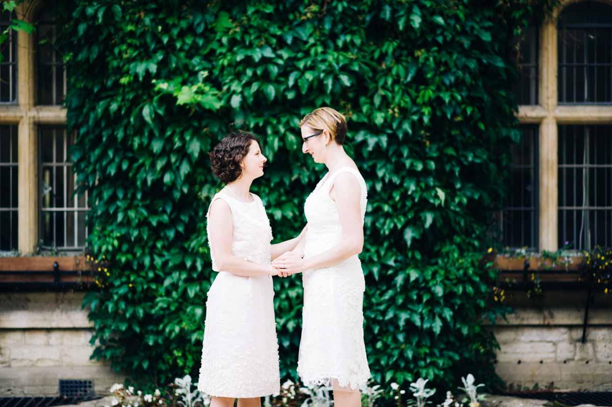 Same sex wedding Oxford